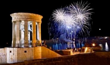 Magical fireworks festival